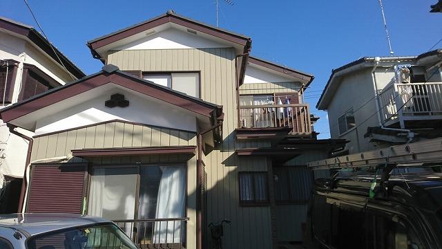 外壁塗装・屋根漆喰工事 入間郡I様邸