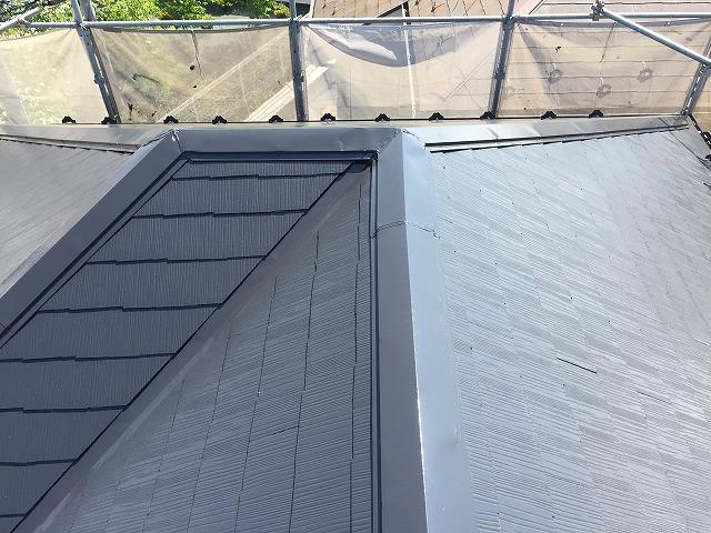 屋根全体仕上がり