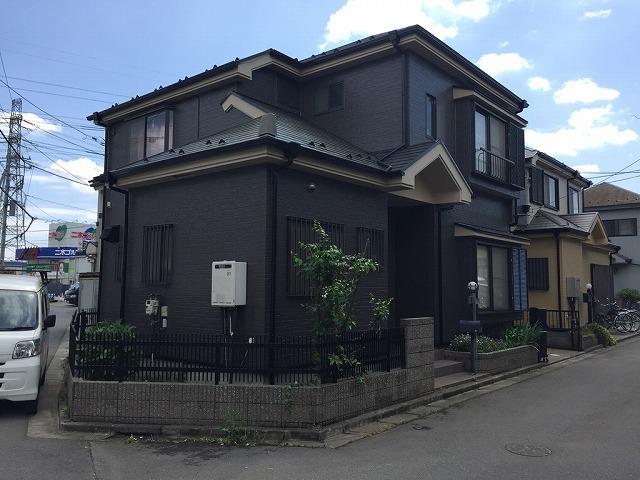 川越市大塚 屋根・外壁塗装