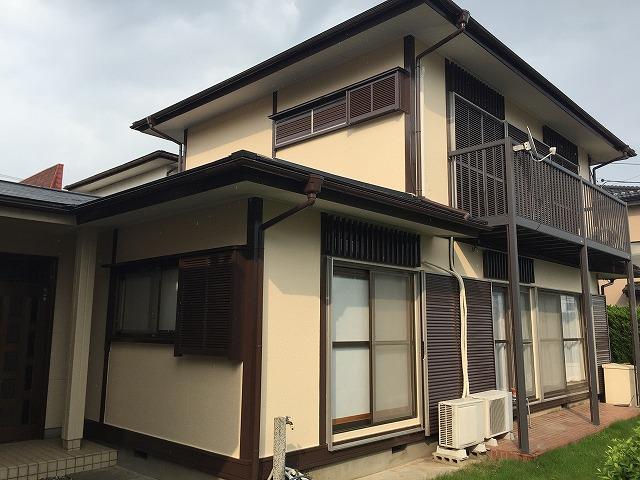 川越市霞ヶ関東 外壁塗装・屋根板金カバー工法