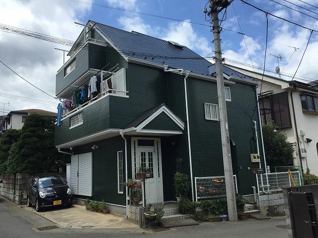 川越市上松原 屋根・外壁塗装