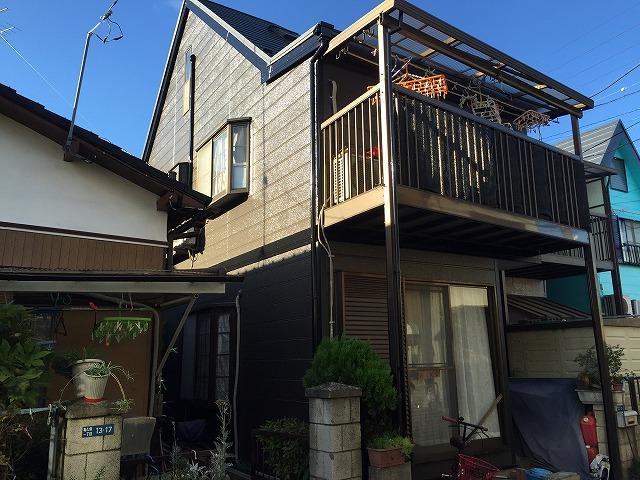 ふじみ野市 屋根板金カバー工法 外壁塗装