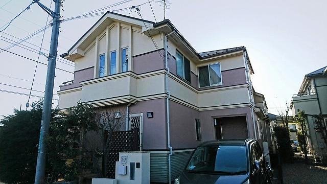 屋根・外壁塗装工事 所沢市M様邸