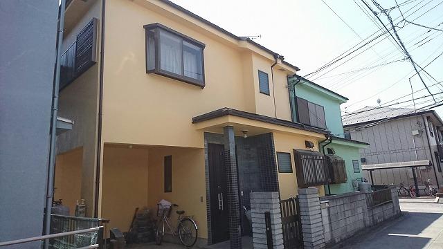 屋根カバー・外壁塗装工事 飯能市K様邸