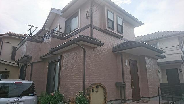 屋根カバー・外壁塗装工事 入間市M様邸