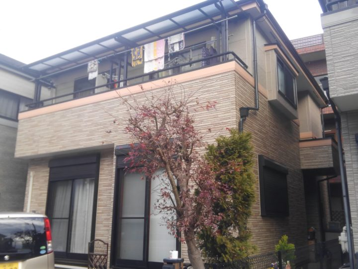 屋根・外壁塗り替え工事川越市