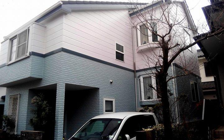 屋根カバー工事・外壁塗装川越市