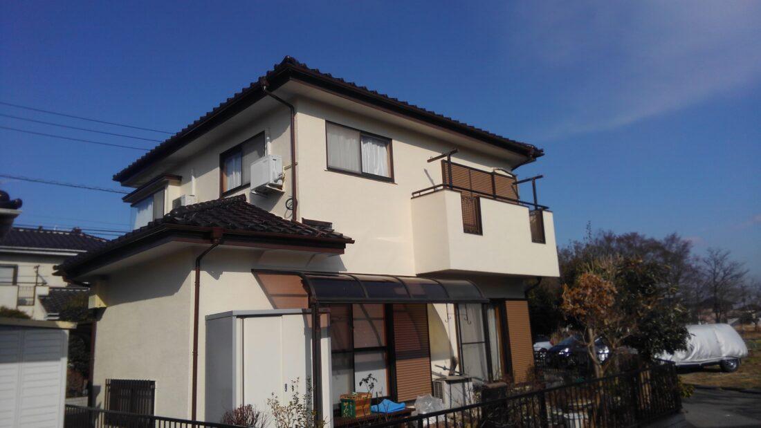 屋根工事・モルタル外壁塗装