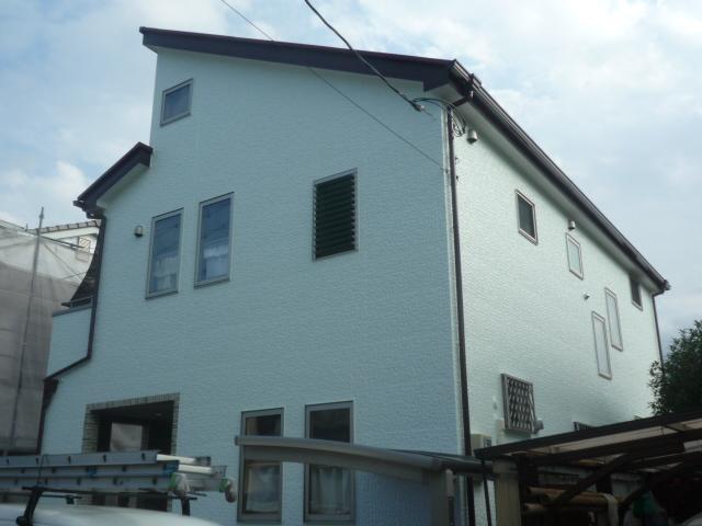 外壁屋根塗装工事 川越市
