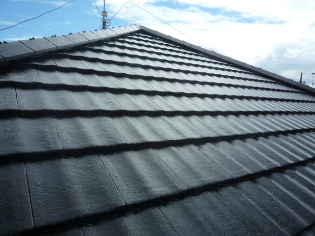 屋根塗装 日高市