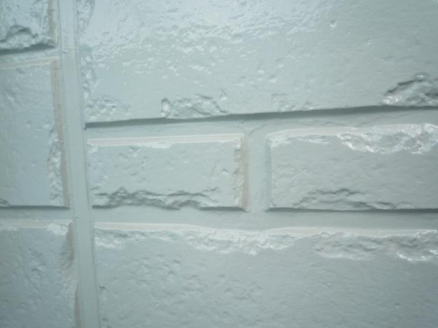 無機塗料により強力な塗膜で撥水します