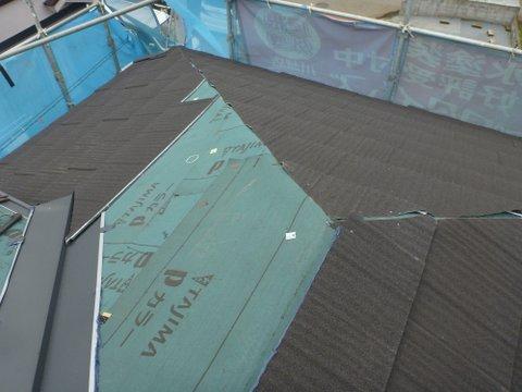 軽量金属屋根を構築