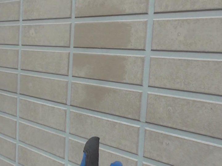 外壁 吸水テスト