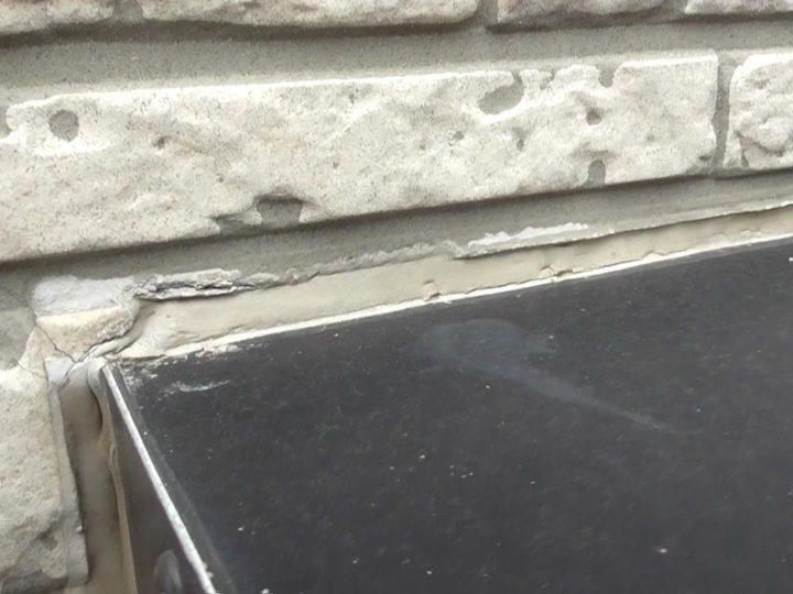 窓廻り シーリング劣化