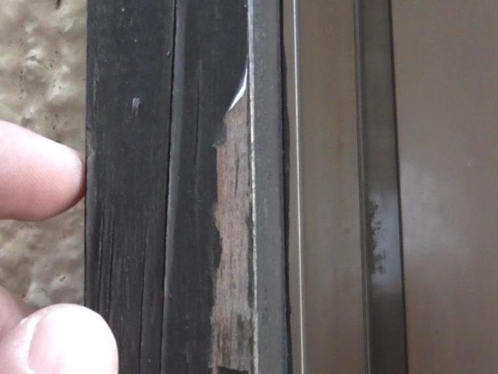 木部 塗膜剥離