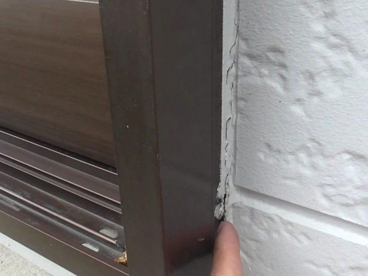 建具まわりシーリング劣化