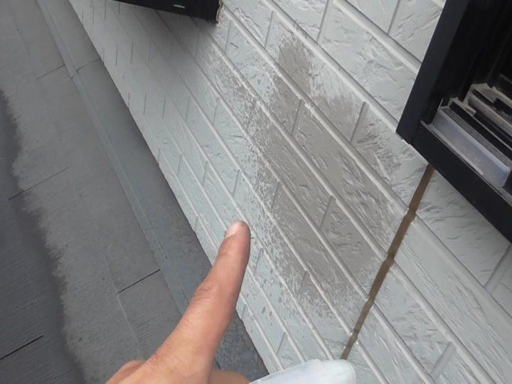 雨水が表面から吸収