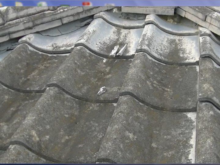 セメント瓦塗膜防水切れ