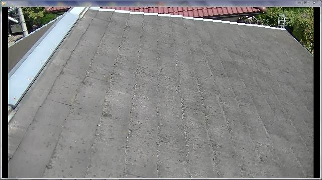 屋根全体的に経年劣化