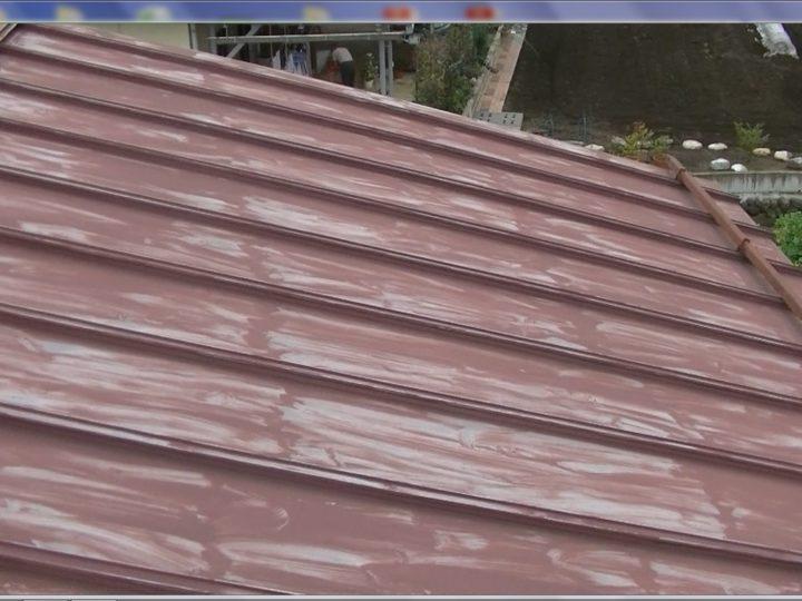 色抜けが激しく塗装による保護が手薄な状態です。