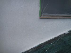 外壁補修作業完了