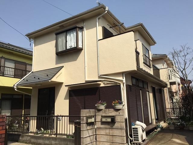 屋根・外壁塗装工事 飯能市K様邸