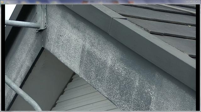 破風板塗装劣化
