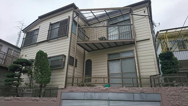 屋根・外壁塗装工事 板橋区K様邸