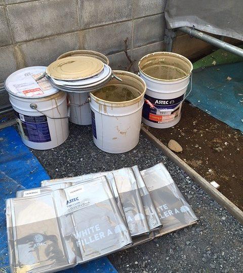 使用済み塗料