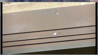 幕板塗膜剥離
