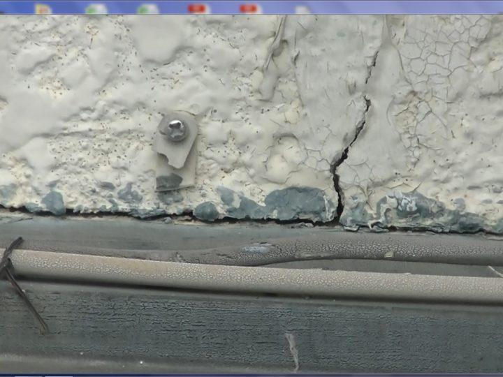 外壁クラック水の侵入懸念