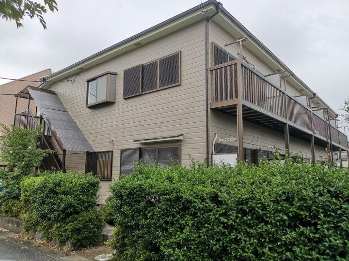 坂戸市アパート外壁塗装・屋根塗装