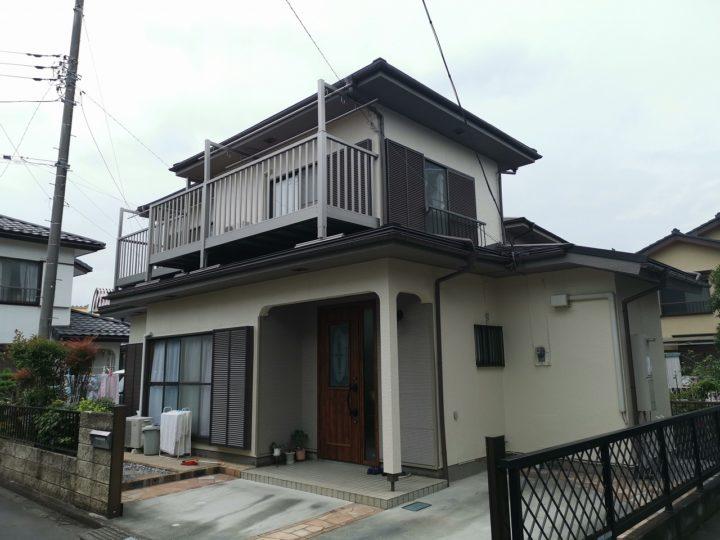 毛呂山町K様外壁塗装・屋根カバー工事