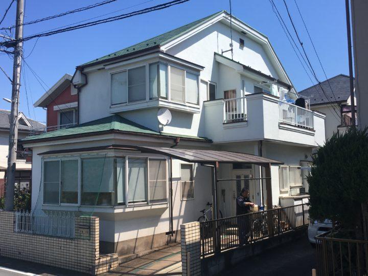坂戸市屋根カバー・外壁塗装