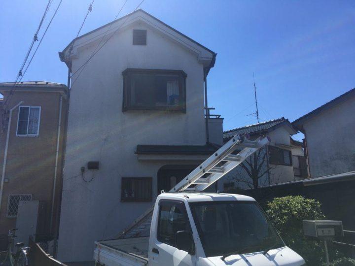 川越市I様邸 外壁塗り替え工事