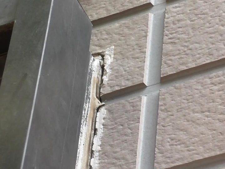 サイディング 建具まわりシーリング劣化