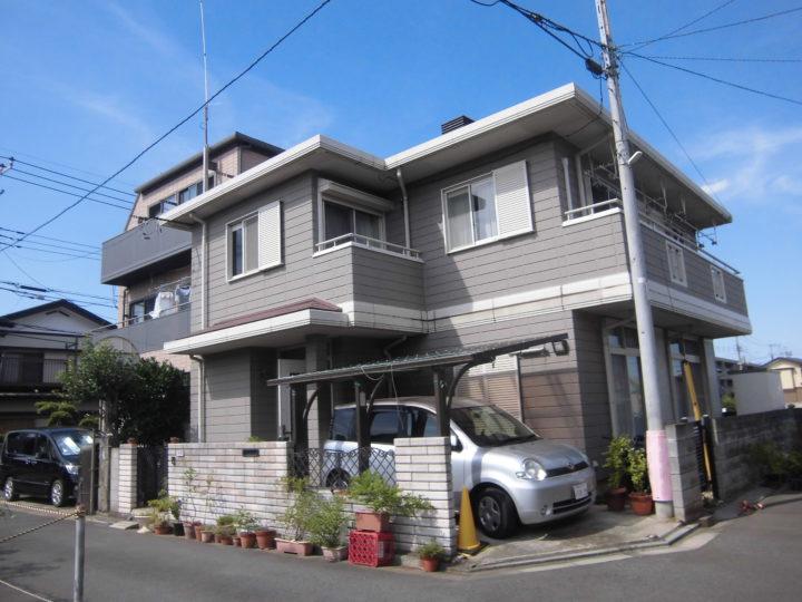 三芳町屋根カバー・塗装工事