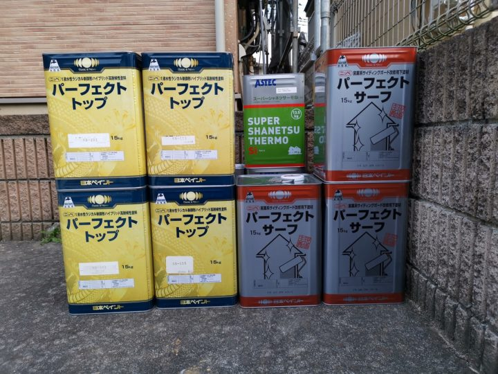 日本ペイント シリコン塗装