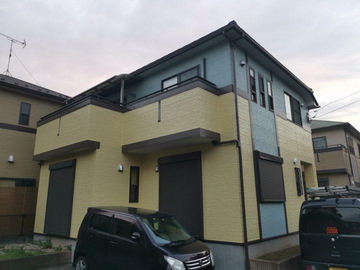 屋根カバー・外壁塗装工事坂戸市