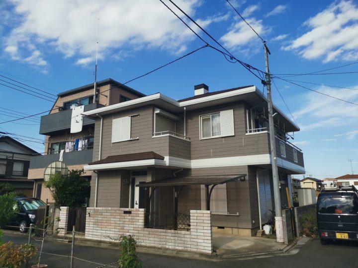 屋根カバー・塗装工事三芳町