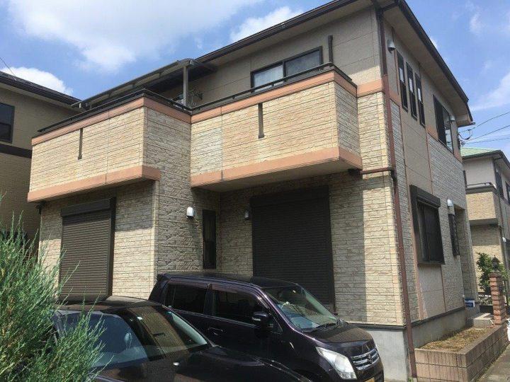 坂戸市屋根カバー工事外壁塗装工事