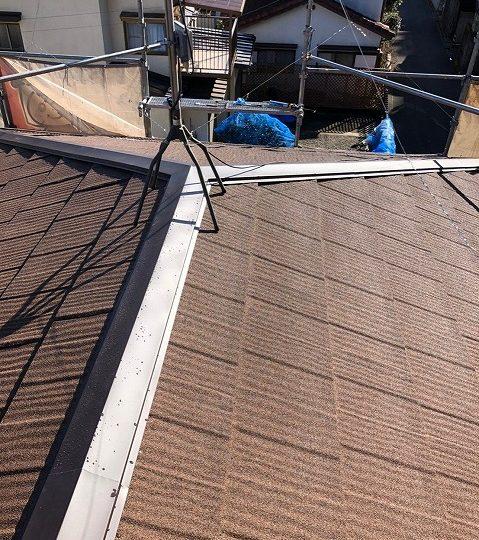 屋根カバー完成