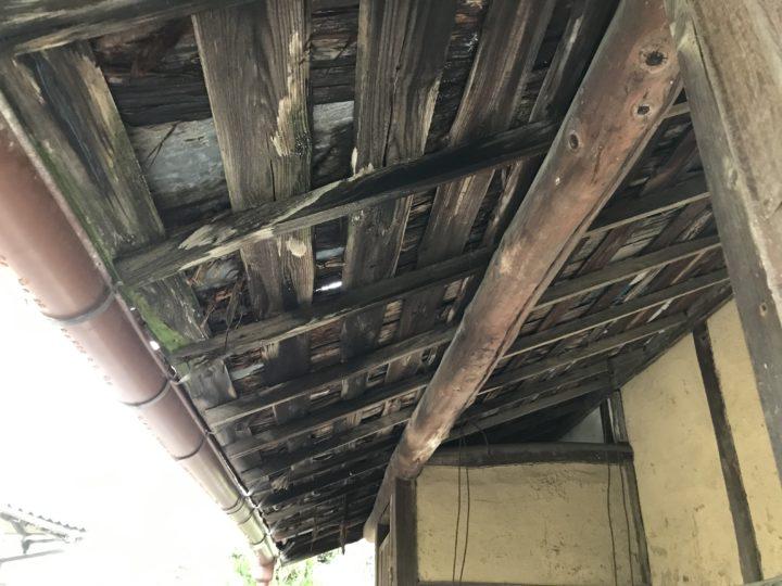 下地垂木劣化