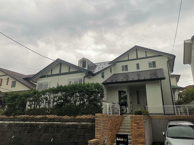 外壁塗装屋根塗装日高市I様邸