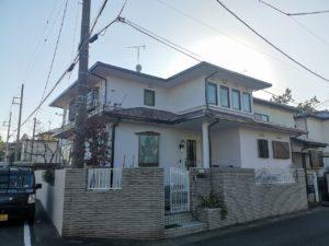外壁塗装屋根塗装鳩山町N様邸