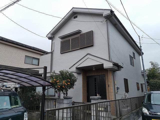 外壁塗装屋根塗装飯能市K様邸