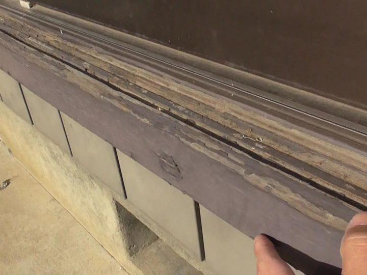 木部塗装劣化