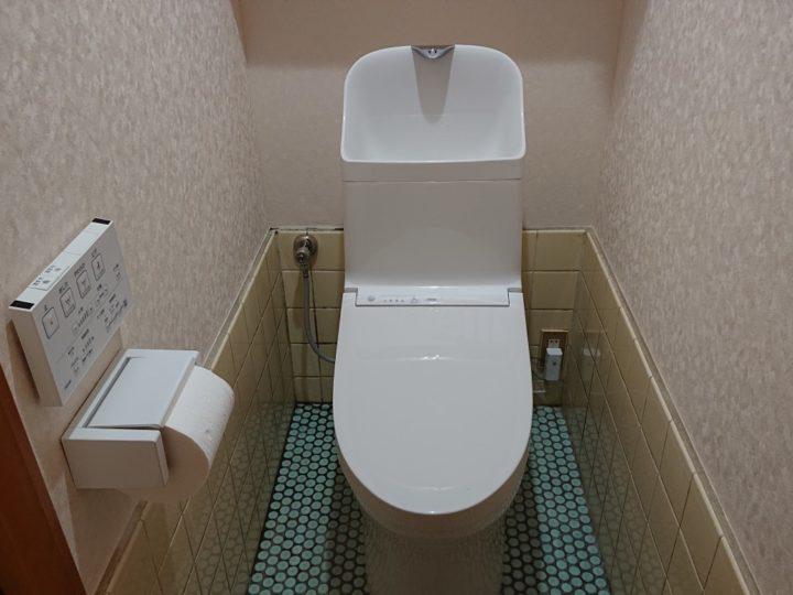 トイレ交換工事・坂戸市A様邸