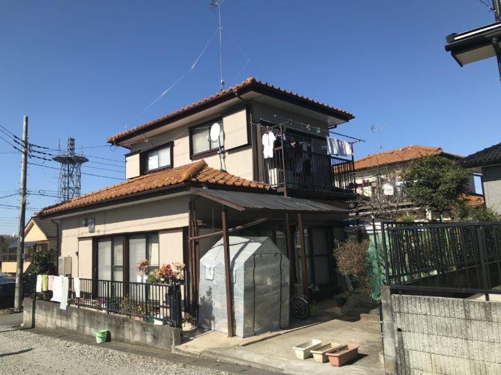 外壁塗装鳩山町OT様邸