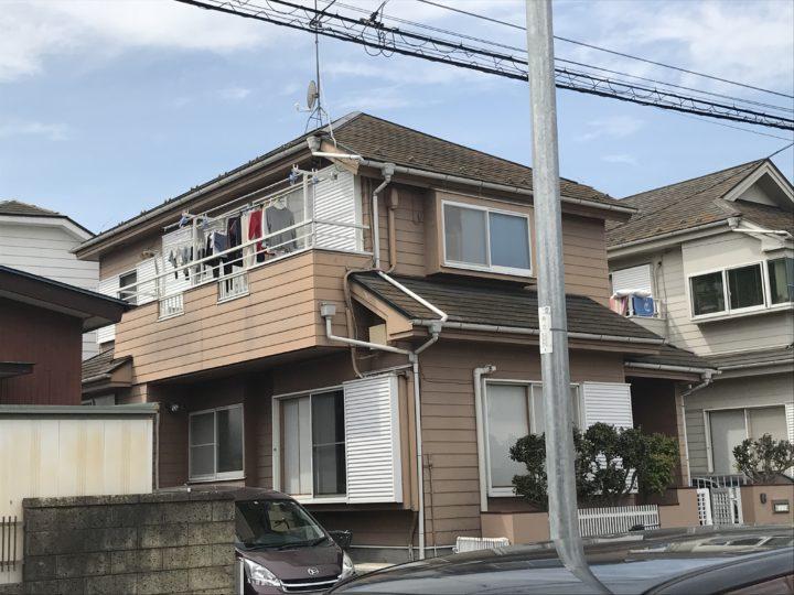 屋根カバー工事外壁塗装鶴ヶ島市D様